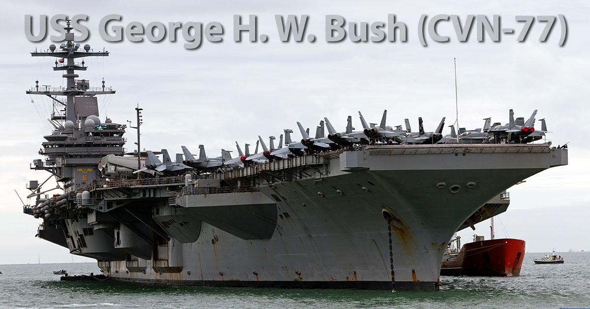 Uss George H W Bush Cvn 77 Gmap Nl